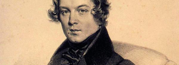 <b>Robert Schumann</b> im Alter von 29 Jahren, Ausschnitt aus Lithographie von <b>...</b> - csm_Robert_Schumann_1839_25b345b300
